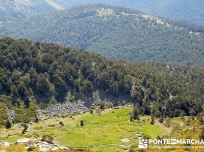 Ruta senderismo Peñalara - Parque Natural de Peñalara - Valle de El Paular; power walking